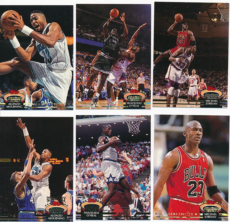 400 Card Set Of 1992-93 Topps Stadium Club Basketball