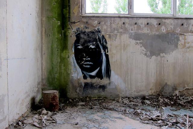 negativ graffiti | kim köster | das chemiewerk . berlin