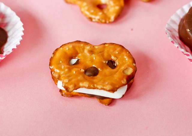 delicious Pretzel S'mores Candy