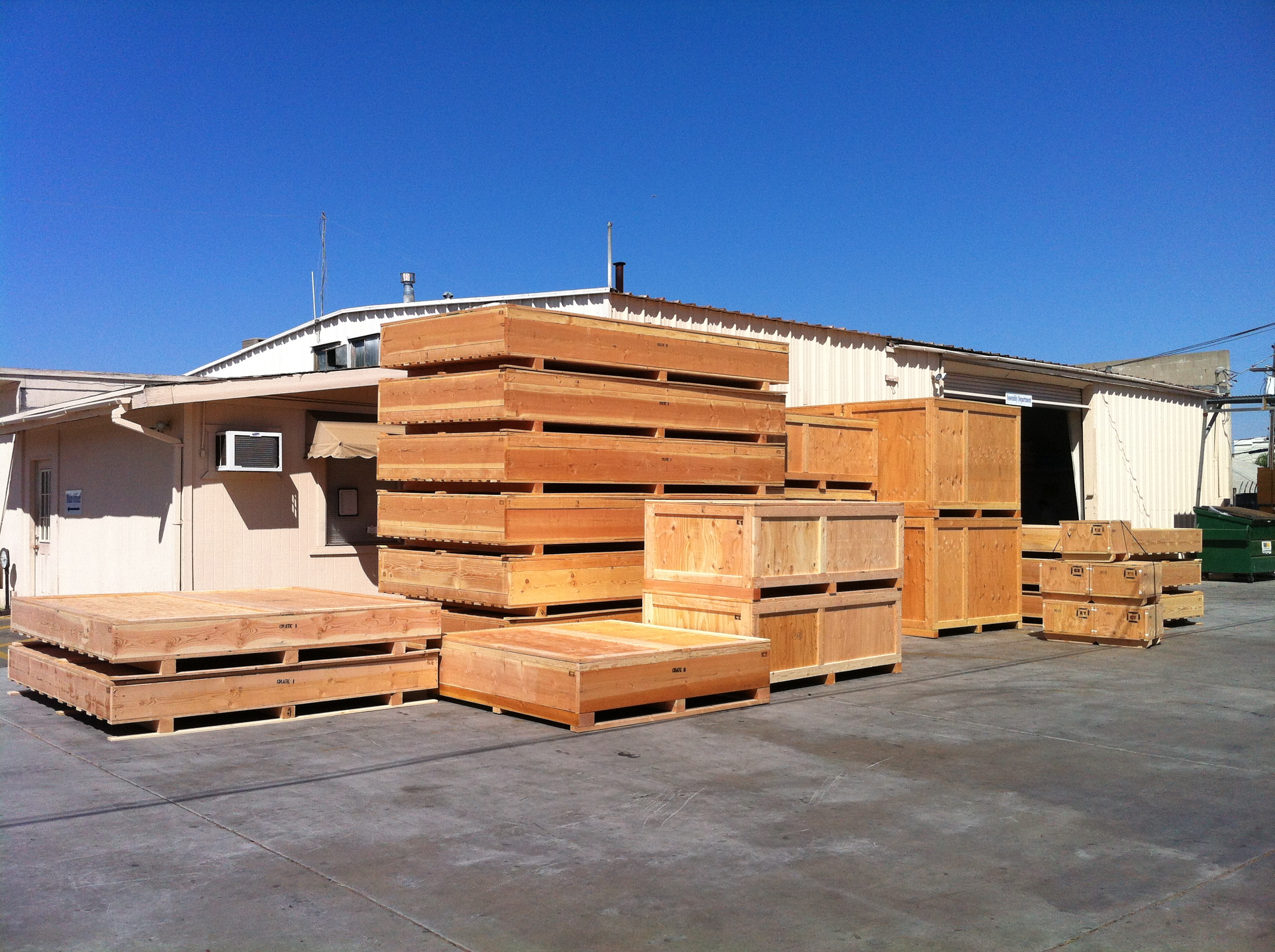 Valley Box yard with Boxes