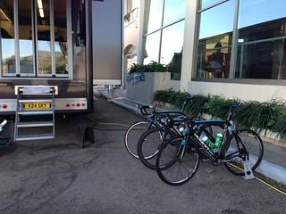 Team Sky cycling in Mallorca