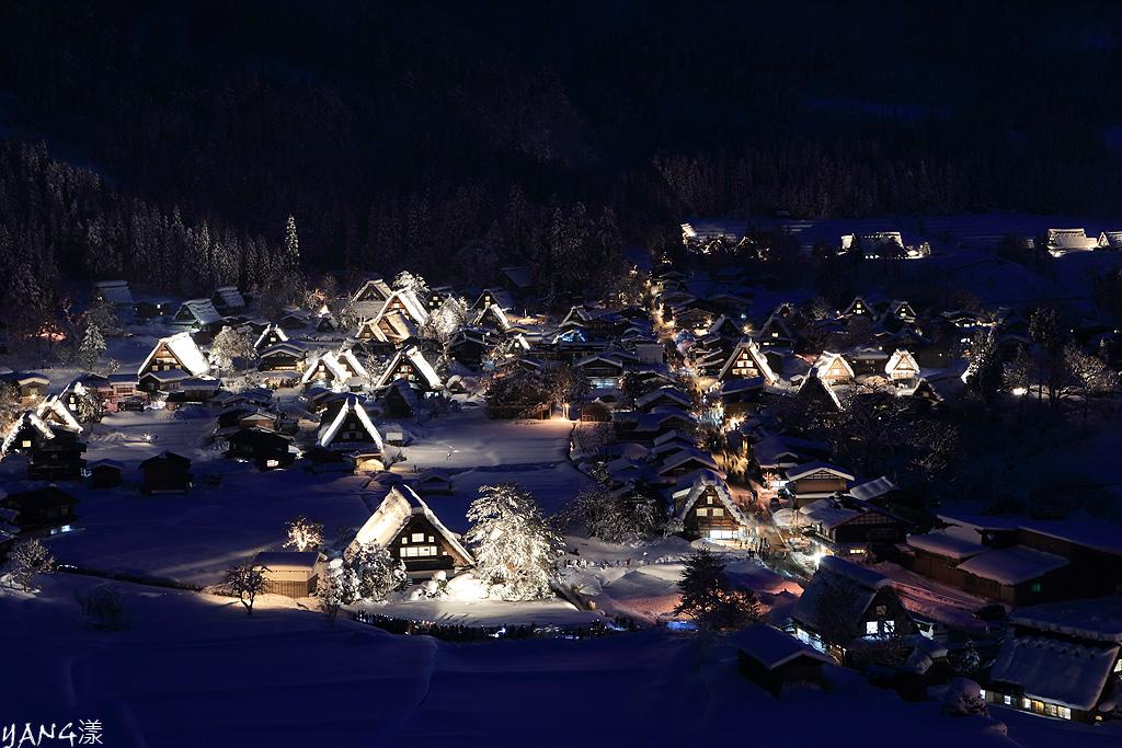 2013白川郷ライトアップ