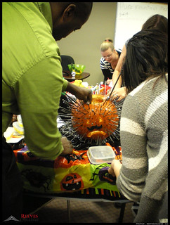 2012 Reeves College Calgary North Campus Staff entry Pumpkin carving