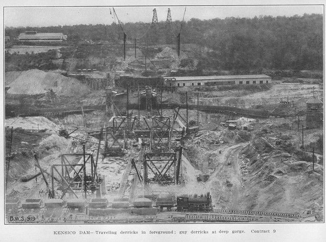 Report 1913 Dam Construction Closeup