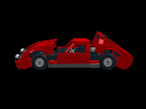 Lamborghini Miura P400SV opening
