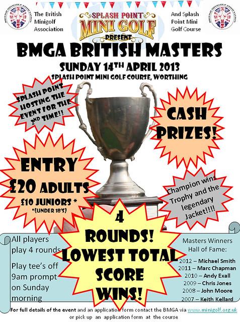 BMGA BRITISH MASTERS