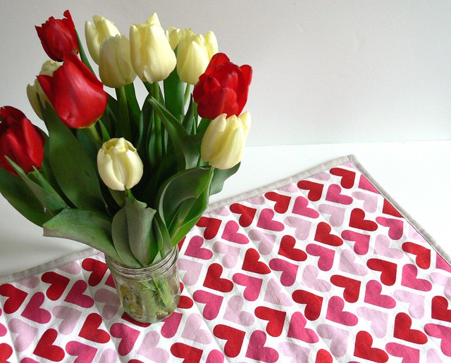 Jenny Bartoy: Valentine's Day Table Runner
