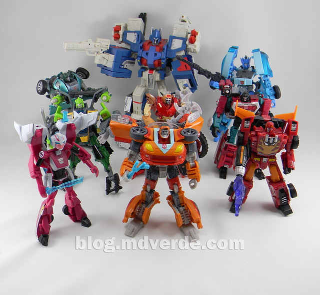 Transformers Wheelie Deluxe - Generations GDO - modo robot vs Autobots 1986