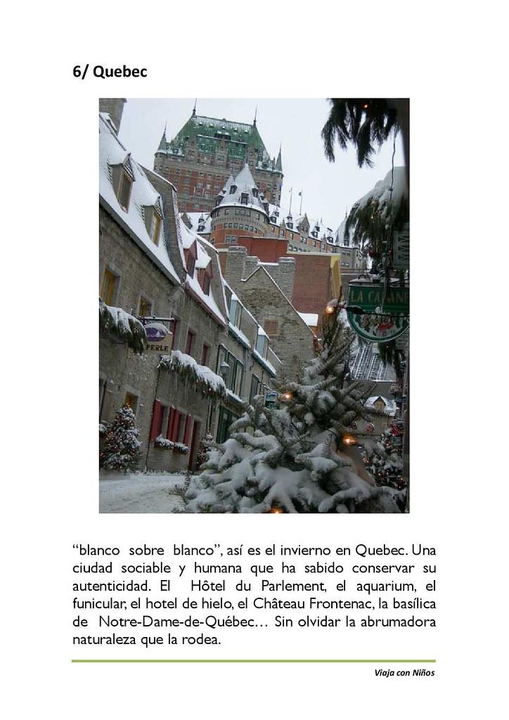 Ciudades para visitar con tus hijos en invierno