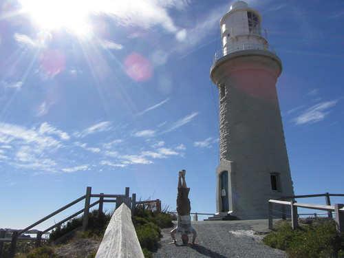 14. rottnest little lighthouse headstand