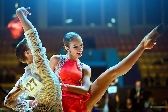 Спортивные танцы - Латина