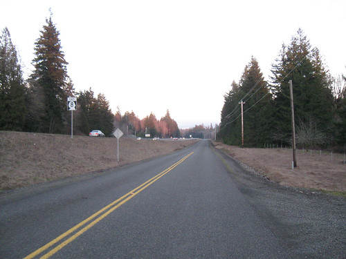Circumnavigating Capitol Forest - Frontage Road
