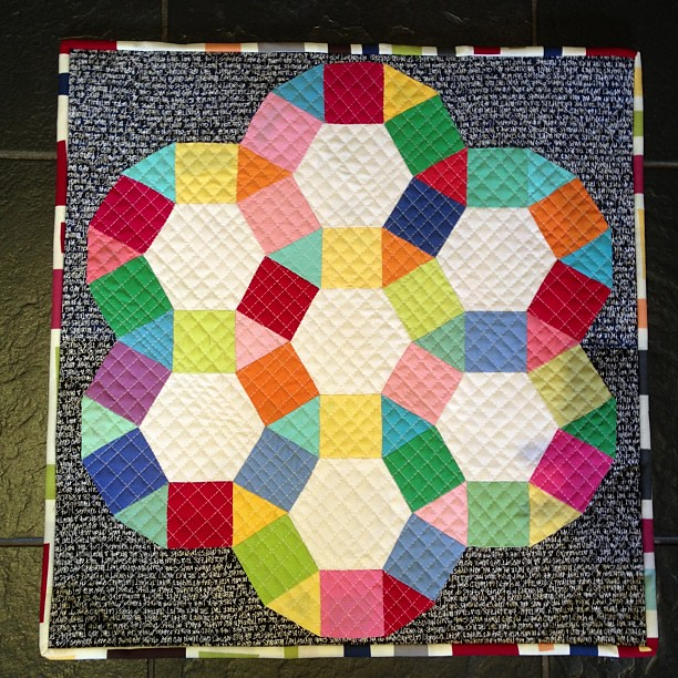 And it's done. (Takes a little bow) @allieheath @robertkaufman kona new colours charm pack, white kona, architextures and modern quilts.