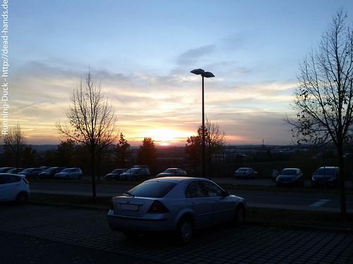Parkplatzsonne