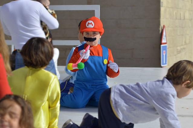 Disfraz de Súper Mario para niño