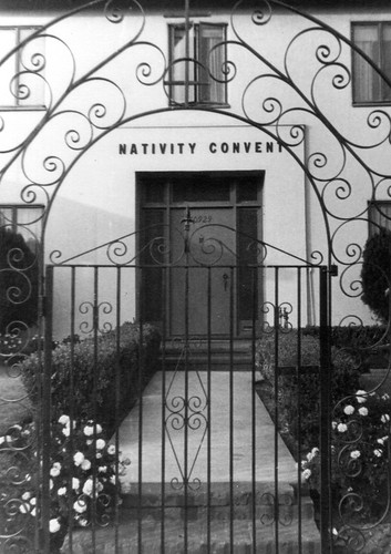 The Nativity Convent in California, 1949, where the pioneer sisters established their first community in the California region