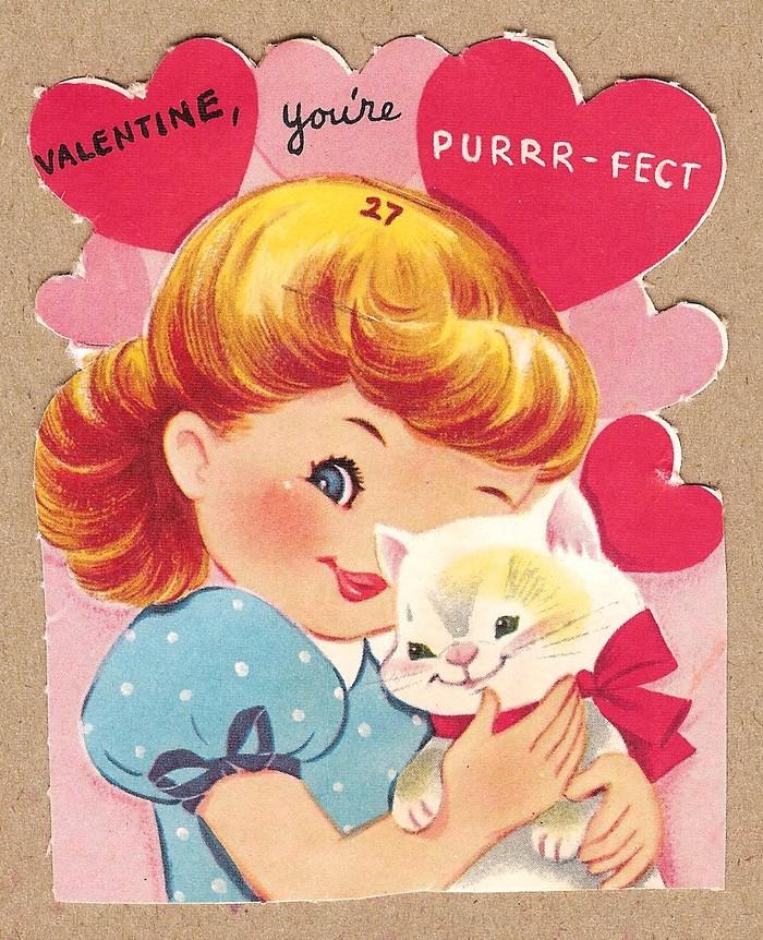 valentine youre purrfect