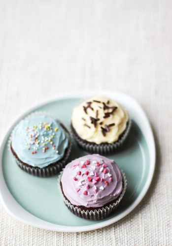Brownie Cupcakes with Buttercream Frosting