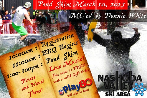 The Pond Skim is on Sunday