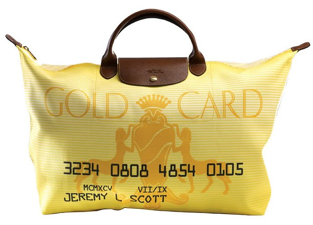 Jeremy Scott Gold Card