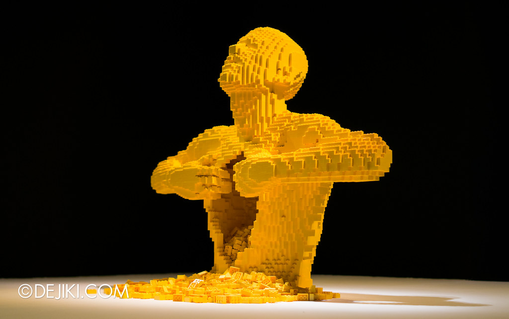 Art of The Brick - Yellow
