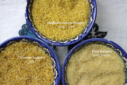 Three Key Types of Bulgur