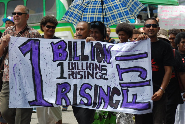 One Billion Rising March Suva, Fiji-V Day, 14 February 2013