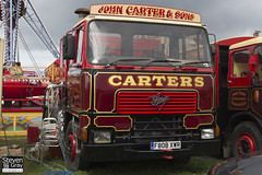 Foden 4350 6x4 Tractor Showman - Red & Gold - John Carter & Sons - F808 XWR - Weston Super Mare - Steven Gray - IMG_1293