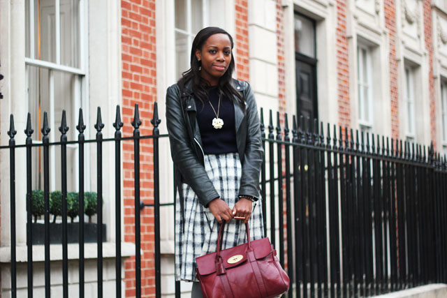 what i wore to london fashion week