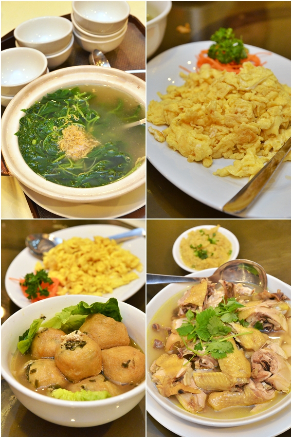 Various Hakka Inspired Dishes