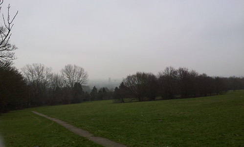 Canterbury cathedral at a distance by Manuel Jorge Marques