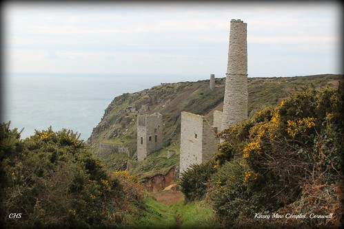 Kinsey Mine Complex, Cornwall by Stocker Images