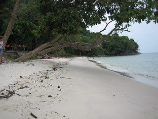 Secluded Langkawi beach