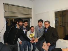 Κυπελλούχοι στο Διασυλλογικό Πρωτάθλημα Σκάκι