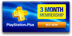 PlayStation Plus - 3-month Membership
