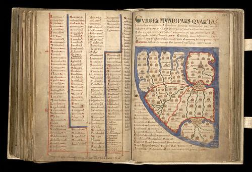 004-Liber floridus – siglo XII-Biblioteca de la Universidad de Gent -Licencia Creative Commons (CC BY-NC-SA 2.0)