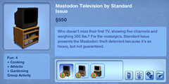 Mastodon Television by Standard Issue