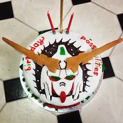 My Birthday Cake This Year The Unicorngundam Gundam Flickr