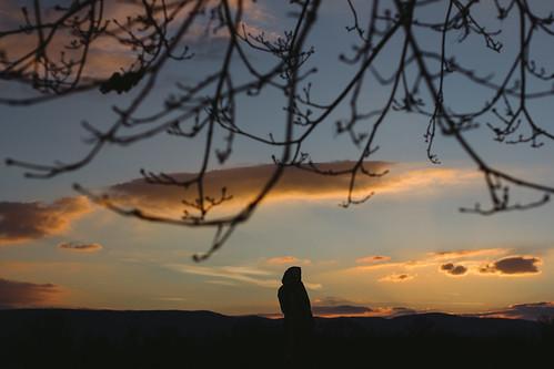 sunset landscape mood view vác dunapart dunakanyar