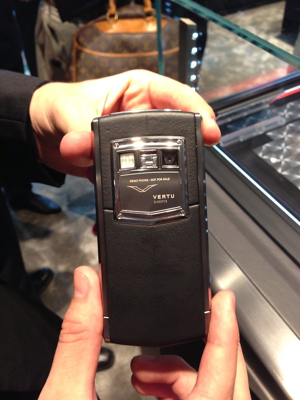 Vertu Ti - Back View