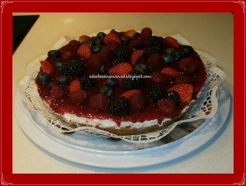 Cheesecake de Frutos Silvestres by Osbolosdasmanas
