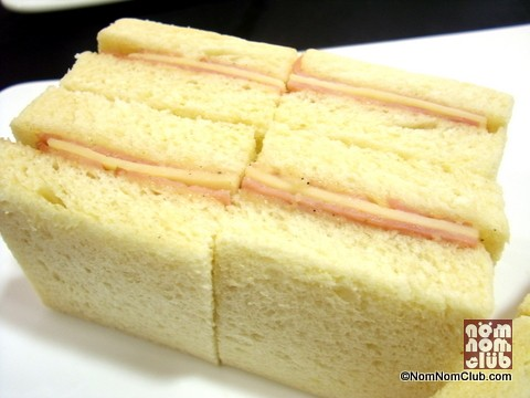 Forest Ham And Monterey Jack Cheese On Brioche Loaf Bread