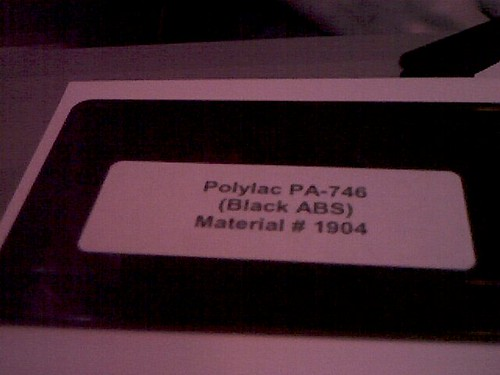Polylac PA-746 (Black ABS) in near-infrared