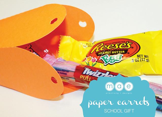 Paper Carrots - School Gift5