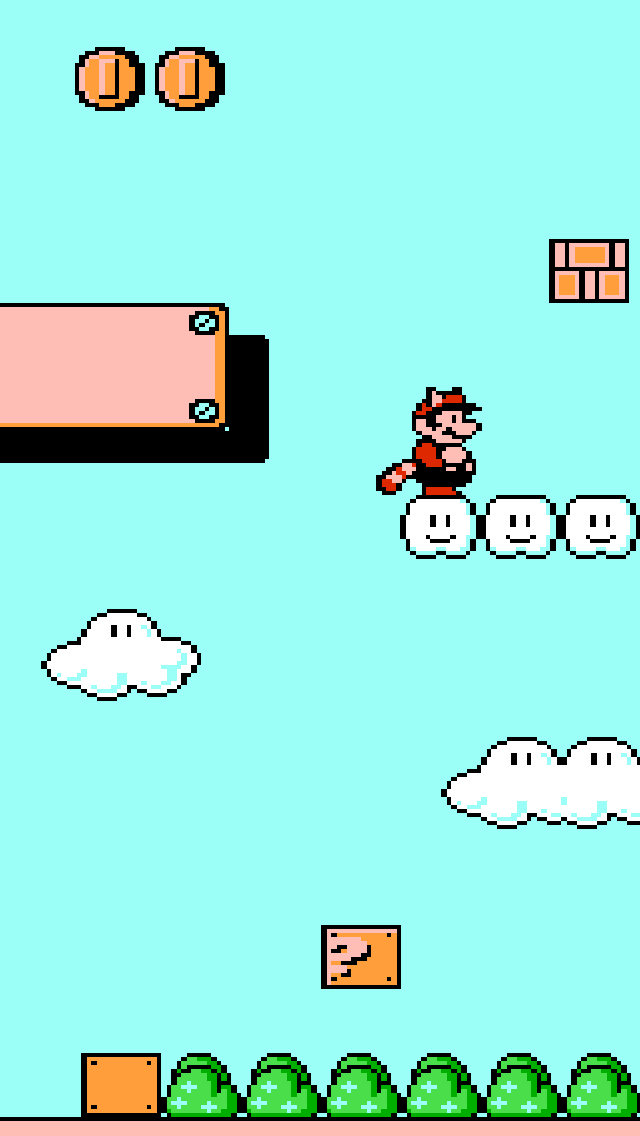 Super Mario Bros 3 iPhone 5 wallpaper