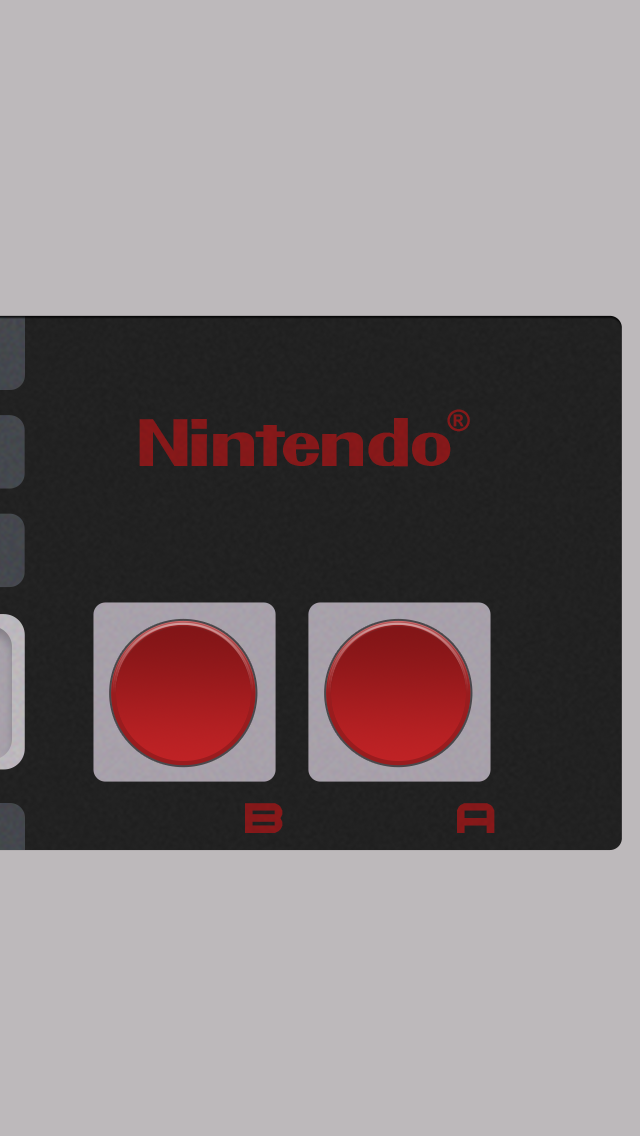 NES controller iPhone 5 wallpaper