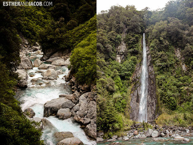 Thunder Creeks Falls | Day 7 New Zealand Sweet as South Contiki Tour | A Guide to South Island
