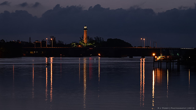 Jupiter (FL) Lighthouse Before Sunrise