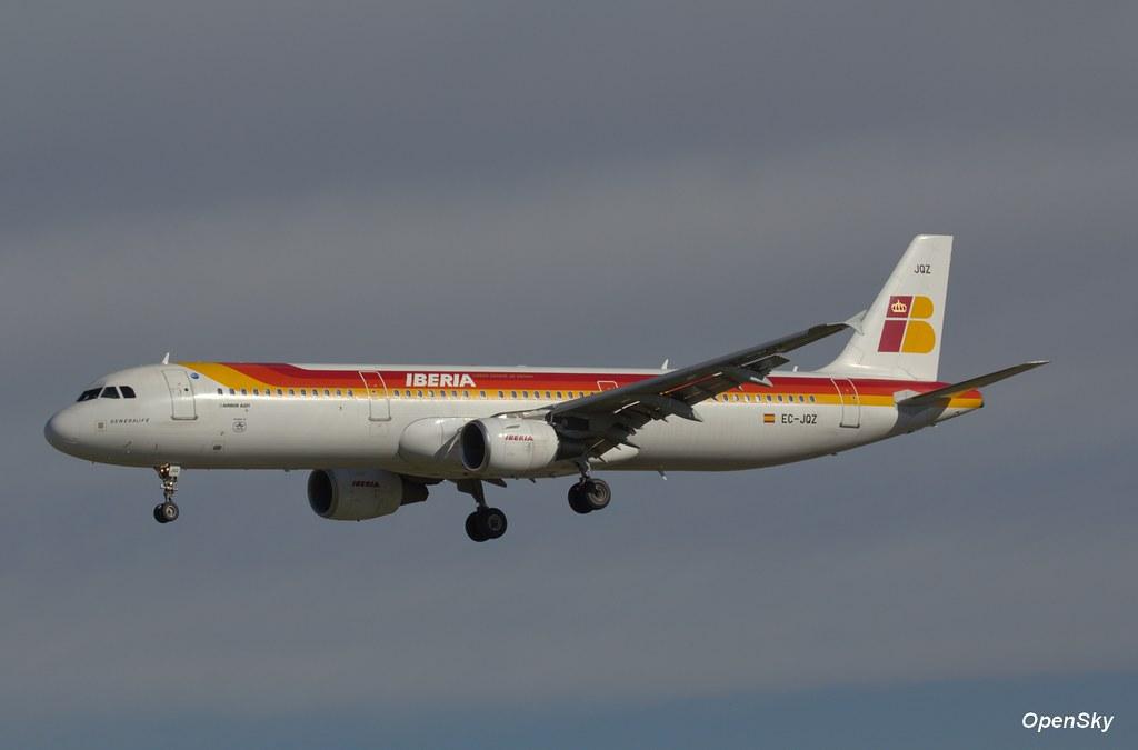 Iberia Airbus A321-212 EC-JQZ (cn 2736)