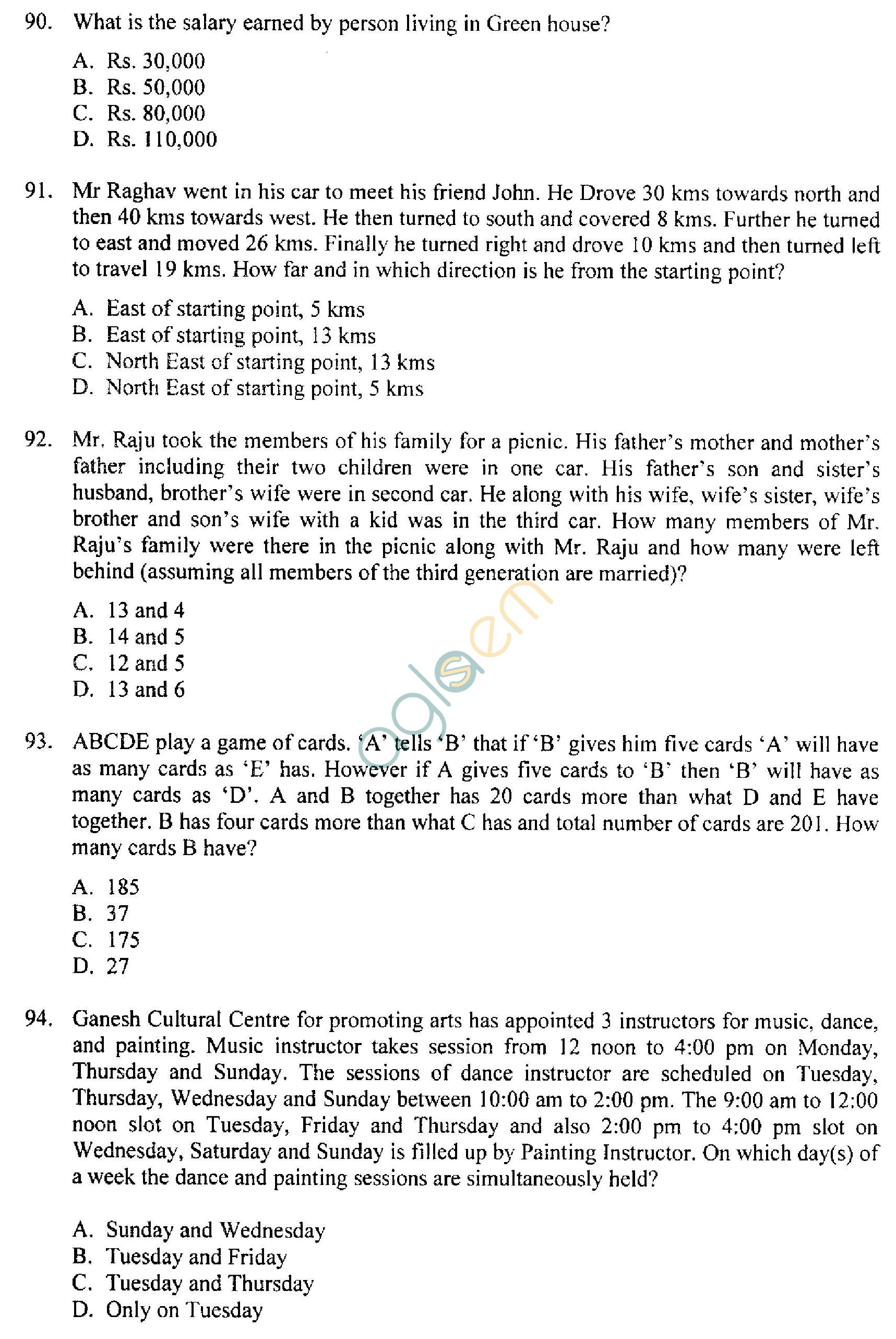 IIFT Previous Year Question Papers with Solutions - 2010